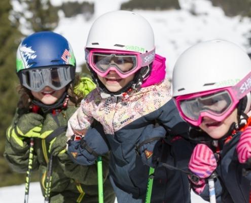 Gruppe Skikurs